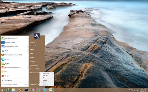 Windows 8 Start Menu Start8