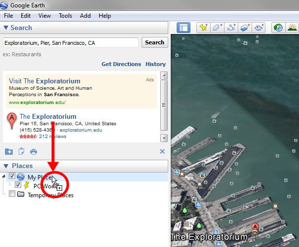 Sync Google Earth placemarks across different PCs | PCWorld