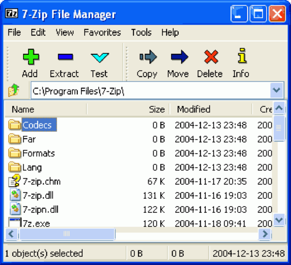 how to create a 7zip file