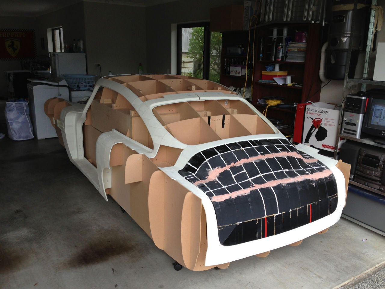 Meet the man who is 3D-printing a replica of a car | PCWorld