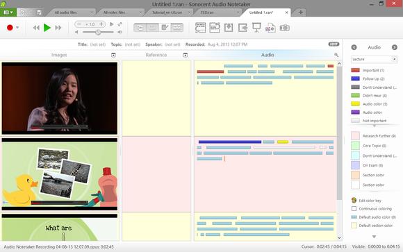 Audio Notetaker 3 for Windows screenshot