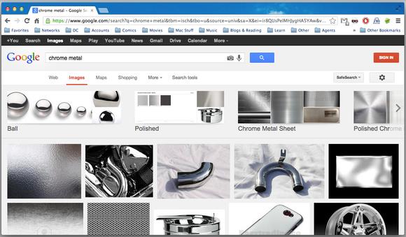 Chrome UI