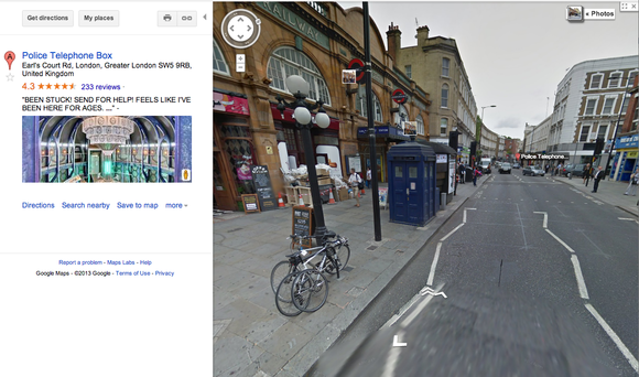 Doctor Who, Google