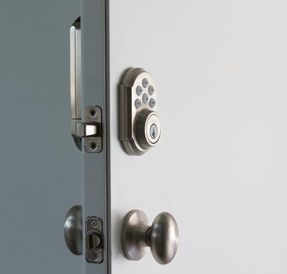 Z-Wave entry lock