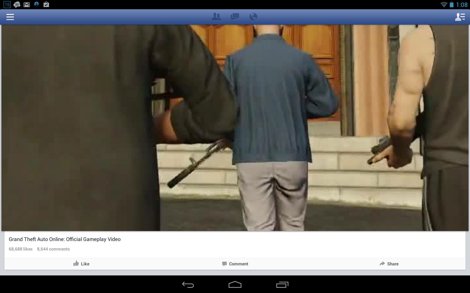 How to Use Facebook on your Android Tablet - dummies