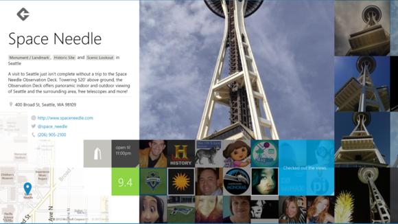 Foursquare place page
