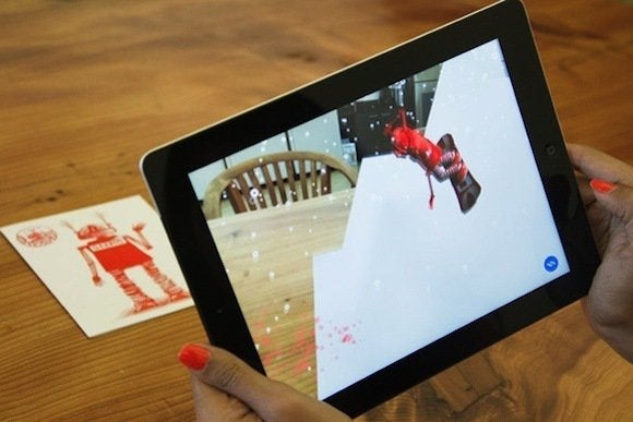 Gizmo uses augmented reality to bring greeting cards into the 21st artiphany m4hsunfo