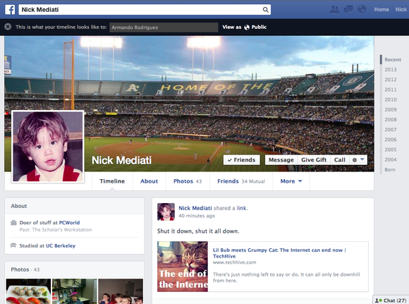 How to see what your facebook profile looks like to others for What do publicists do