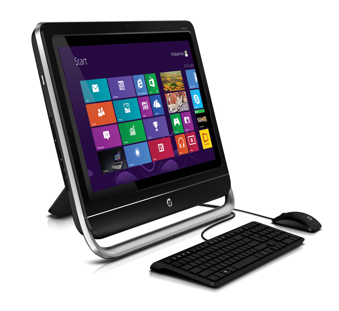 HP's Pavilion TouchSmart is a well-built all-in-one, but a middle-of
