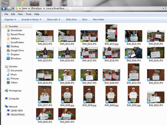 IDriveSync folder
