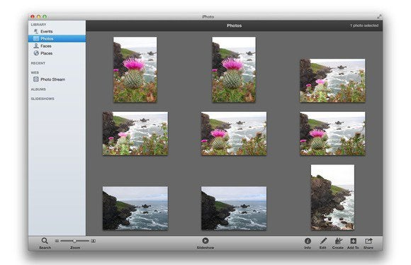 getting started with iphoto macworld rh macworld com iPhoto Photo Book Apple iPhoto Tutorial