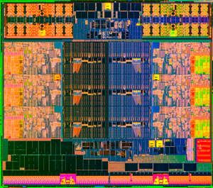 Intel Ivy Bridge-E die