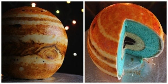This Cake Looks Like The Planet Jupiter Is Much Too Cool