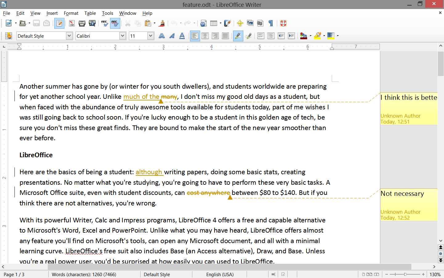 Is there any sort of software that is better than Microsoft office that helps with writing papers?