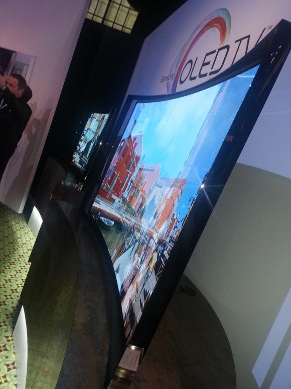Samsung Curved OLED