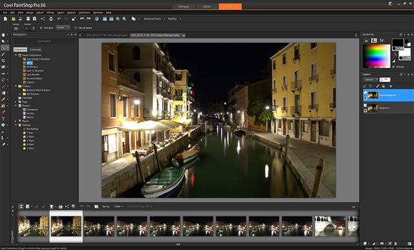 PaintShop Pro X6 edit