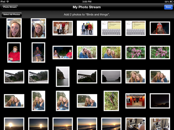 Up and running with Photo Stream