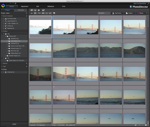 PhotoDirector 5 steps up to compete with Aperture and