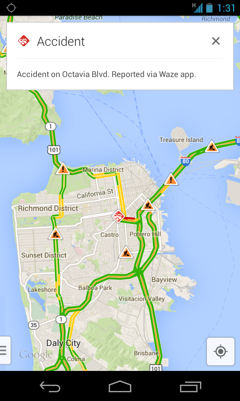 Google Gets Youtube Integration Official Chrome: Google Gets The Best Of Waze With Latest Maps Update—and