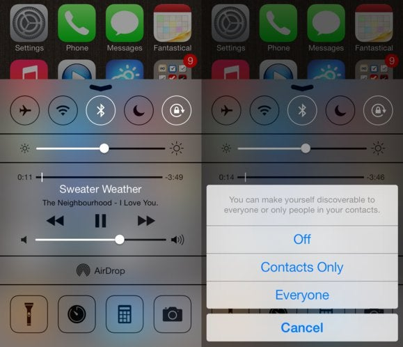 Get to know iOS 7: AirDrop