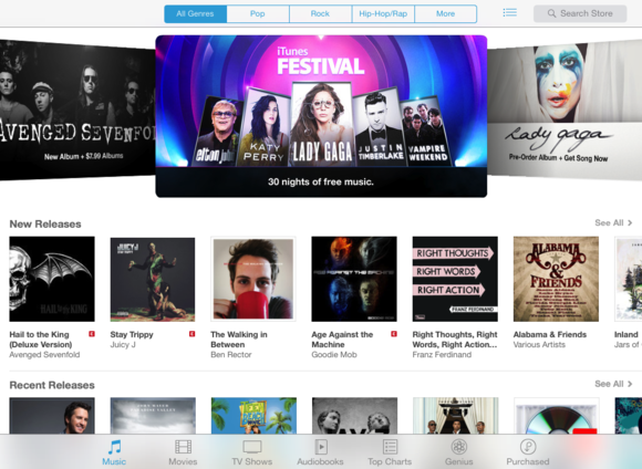 Get to know iOS 7: iTunes Store, App Store, and Newsstand