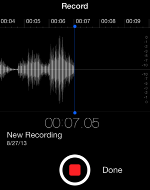 voice memo iphone get to ios 7 voice memos macworld 4190