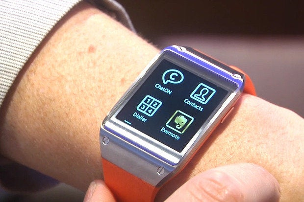 next version of galaxy gear smartwatch will ditch android for tizen report says greenbot. Black Bedroom Furniture Sets. Home Design Ideas