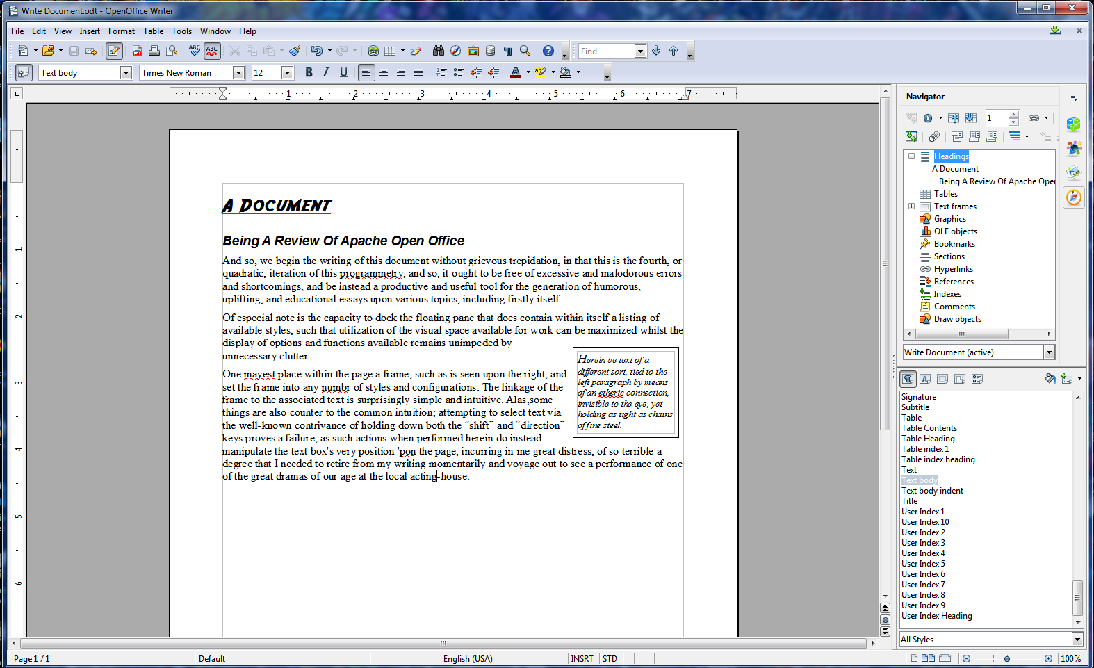 Apache openoffice 4 0 review new features easier to use - Open office writer telecharger gratuit ...