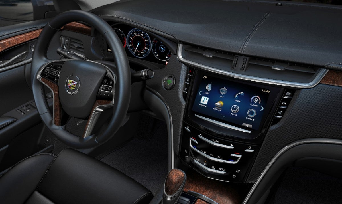 Cadillac CUE signals new era of customizable in-car displays