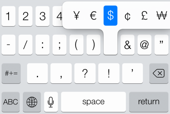 Secrets Of The Ios 7 Keyboard Macworld