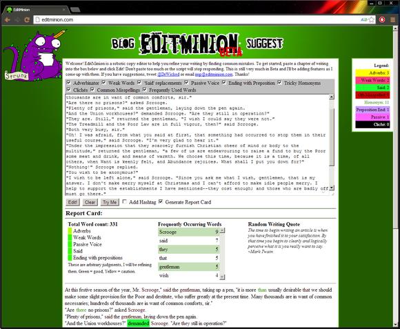 Edit Minion screenshot