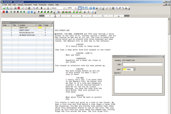 final draft 8 review mac