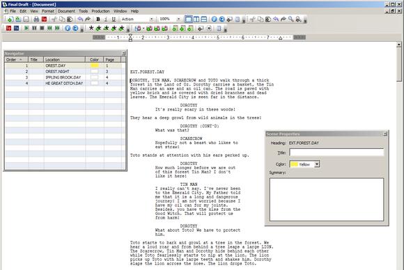 Final Draft 8 for Windows
