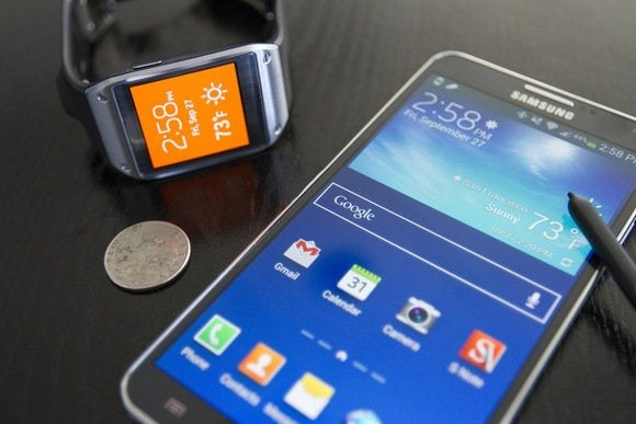 galaxy gear with galaxy note 3