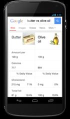 Google comparison engine