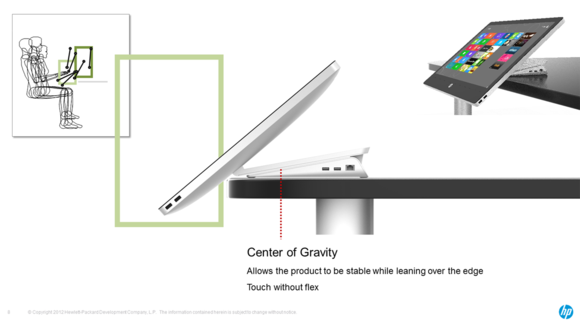 HP Envy Recline design insights