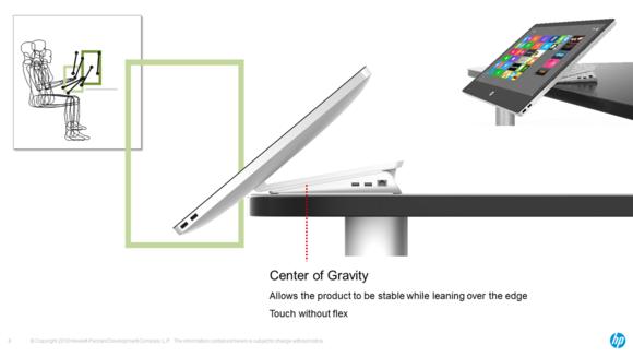 HP Envy Recline design insights