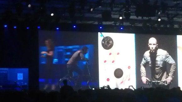 LED bike Intel