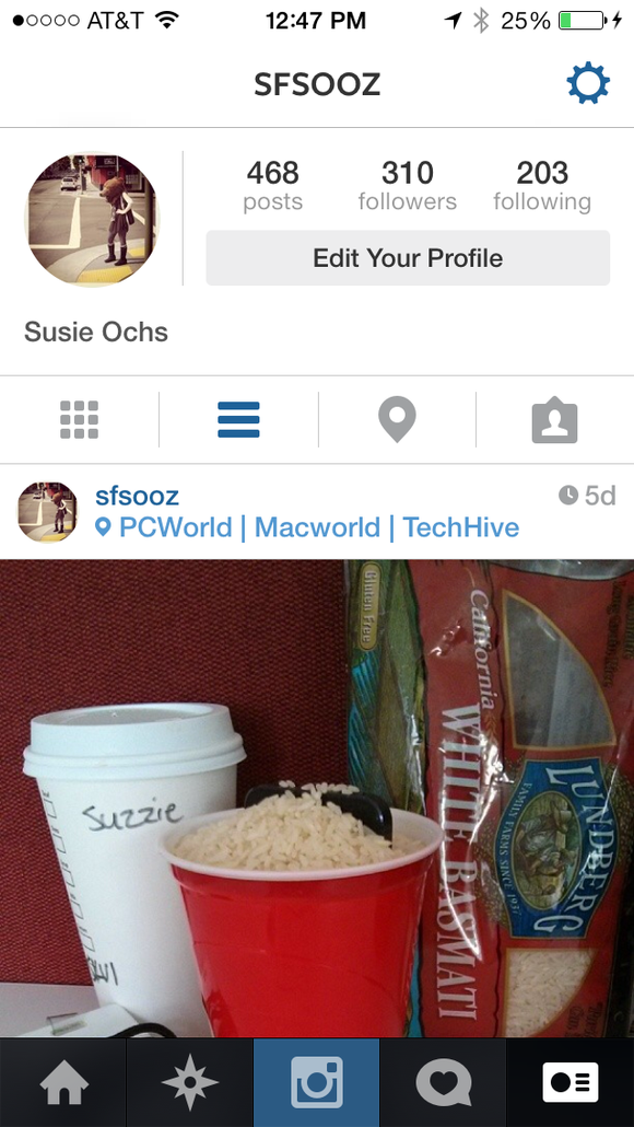 Instagram for iOS 7: You call that a redesign? | PCWorld