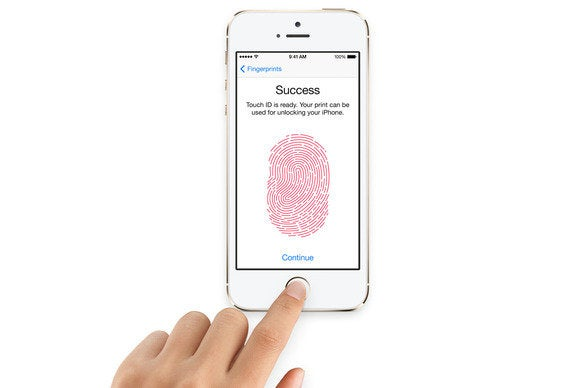 Iphone S Thumbprint