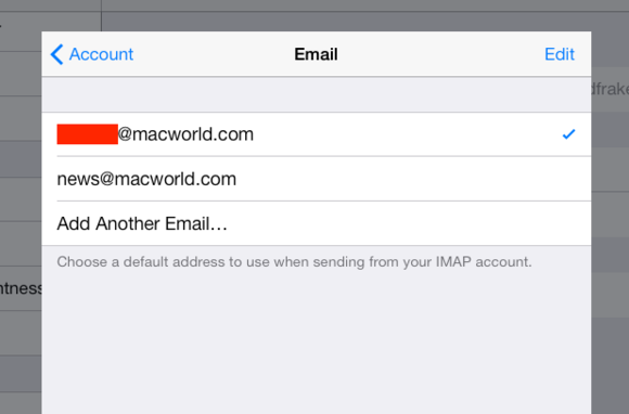 iOS 7 Mail multiple mailboxes