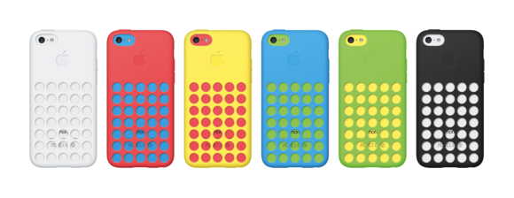 Apple offers six versions of the iPhone 5c Caseu2014all the colors of ...