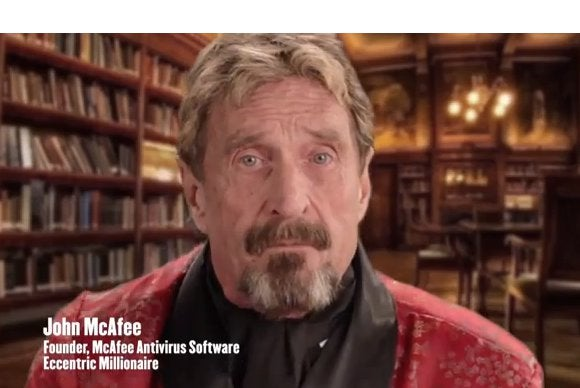 John Mcafee Takes On The Nsa With Secure Anonymity Device