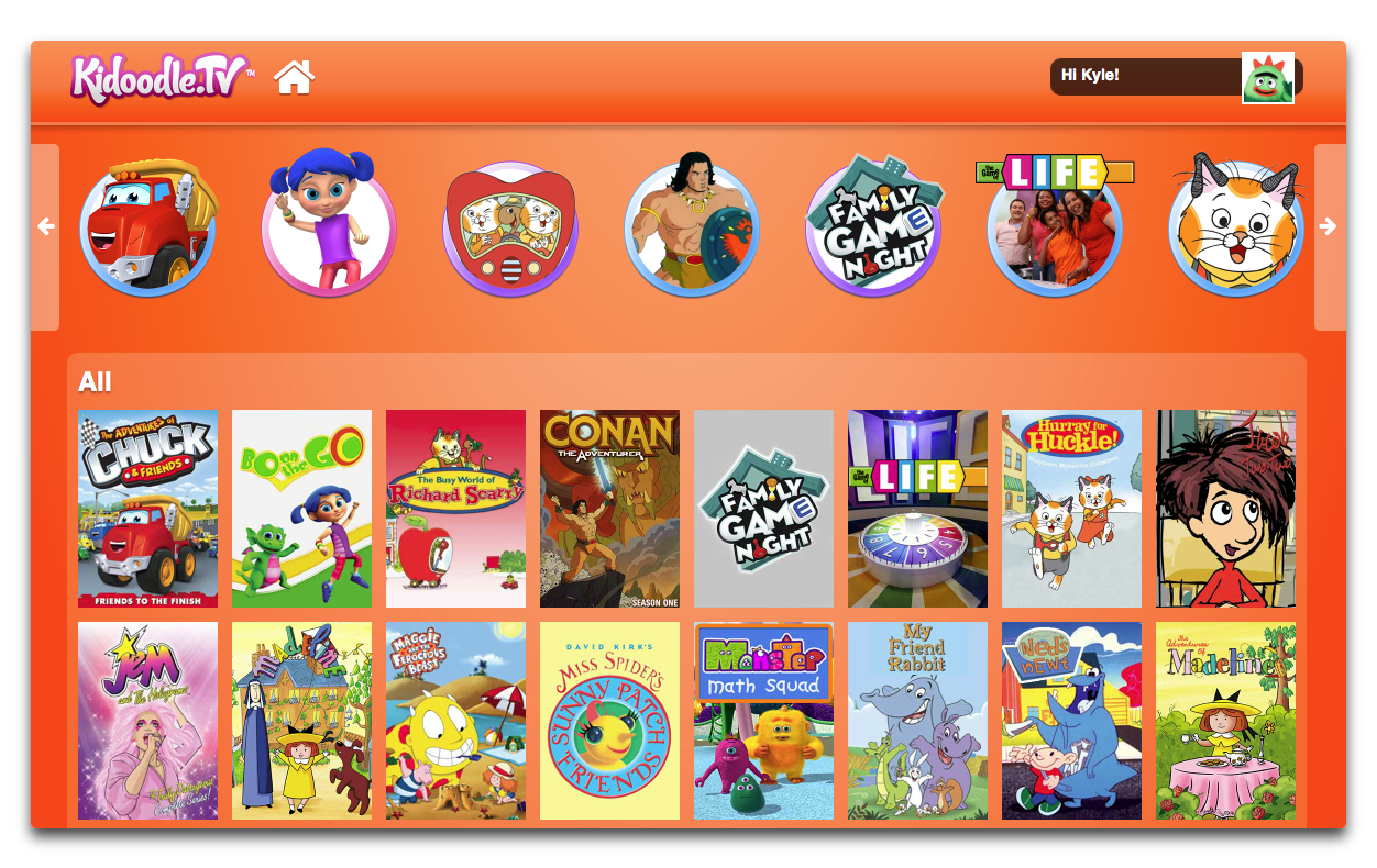 Hands On With KidoodleTV A Netflix Just For Kids