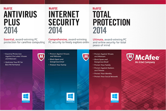 McAfee unveils 2014 versions of Antivirus Plus, Internet