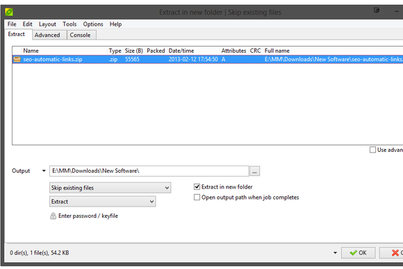 PeaZip 5.0 screenshot
