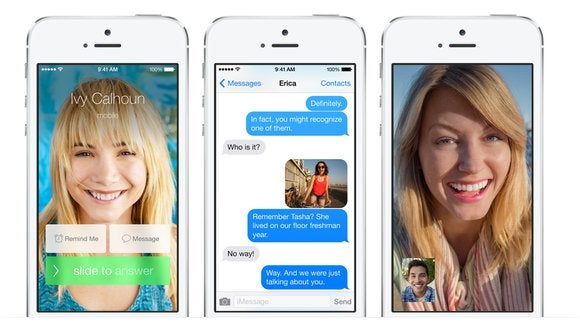 Get to know iOS 7: Phone, FaceTime, and Messages | Macworld