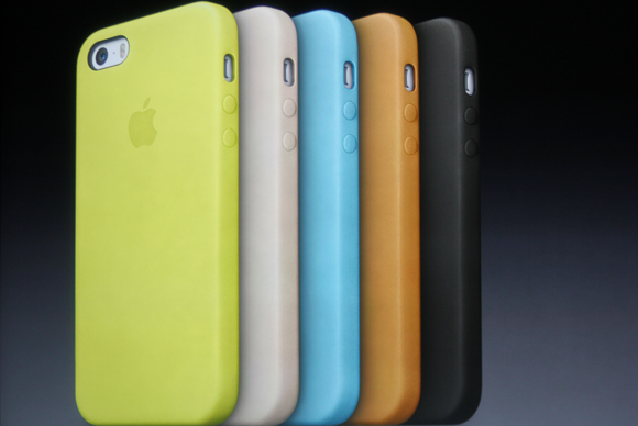 Leather cases for the iPhone 5s