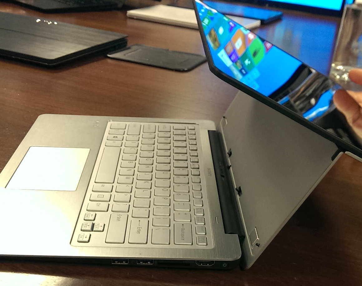 Sonys New VAIOs Include Flip Convertible Laptops Tap 11