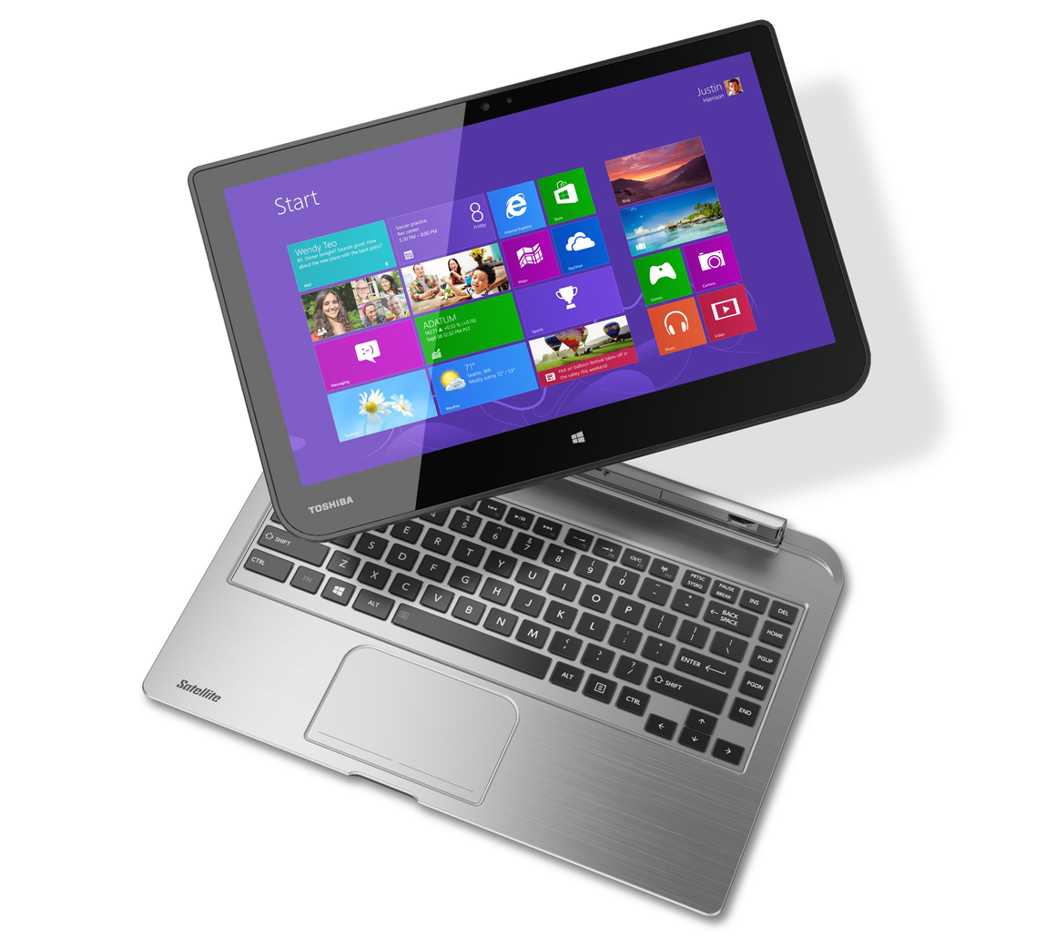 Toshiba Intros New Satellites The Nd15t Notebook Encore